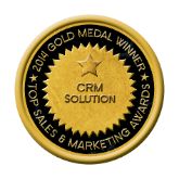 2013 Gold Medal Top Sales & Marketing CRM Solution