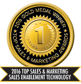 Membrain is top sales enablement technology, as awarded by TopSalesAwards